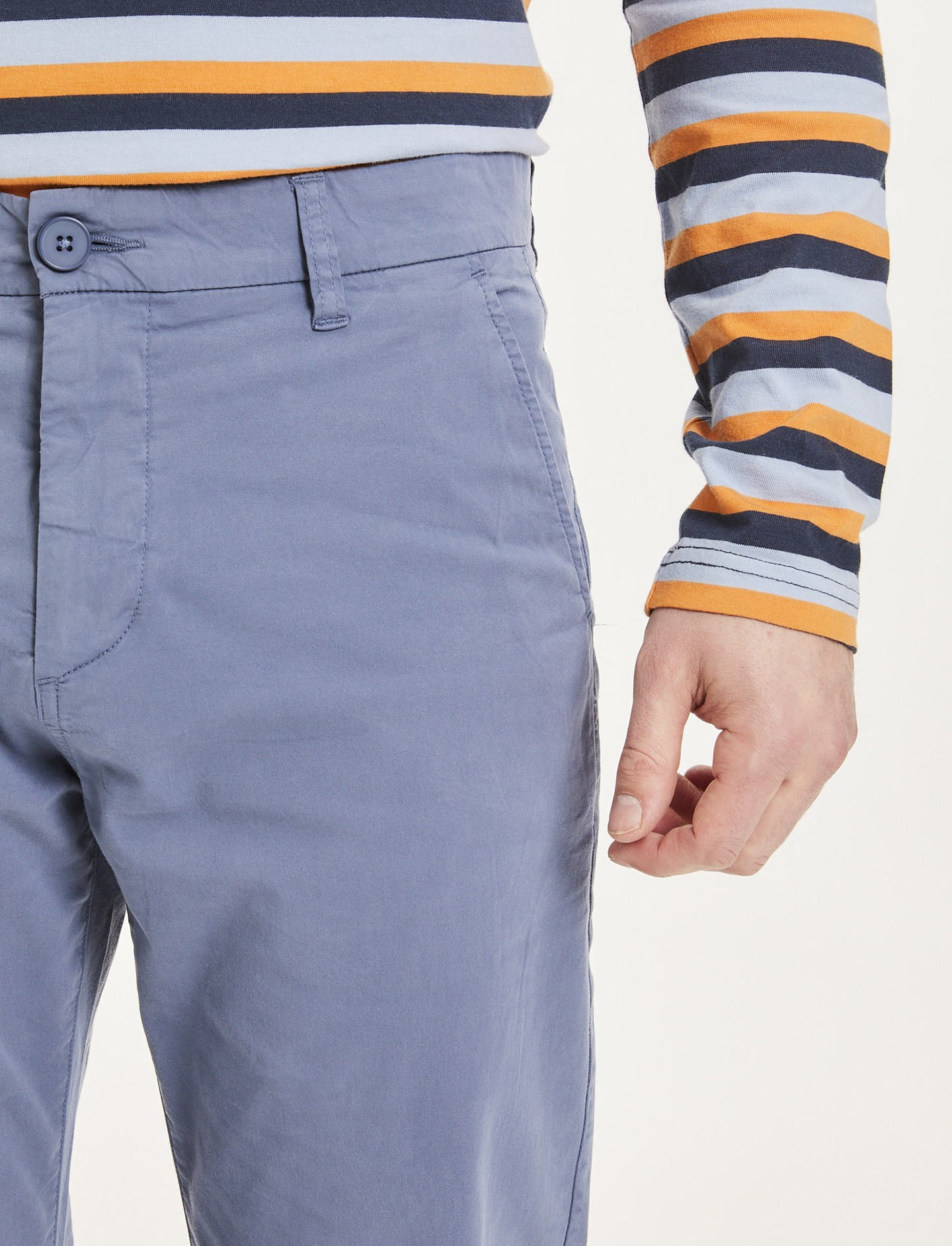 Pantalon Chino Chuck Bleu Indigo